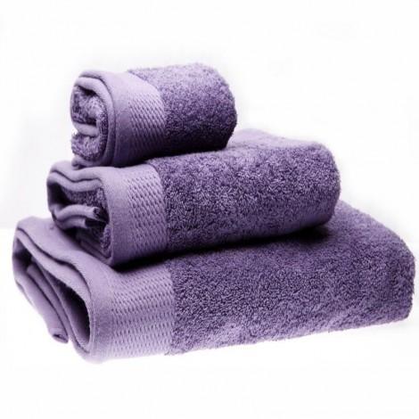 Светло лилава хавлиена кърпа 380гр. в 3 размера