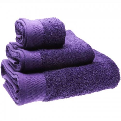 Тъмно лилава хавлиена кърпа 500гр. в 3 размера
