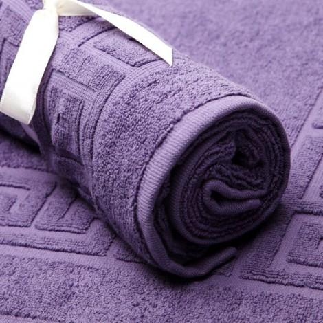 Светло лилаво килимче за баня 600гр.