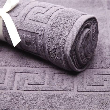 Сиво килимче за баня 600гр.