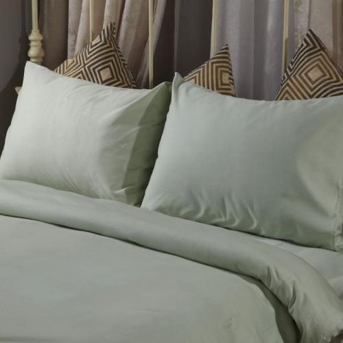 Спален комплект памучен сатен Зелен | Cama mia