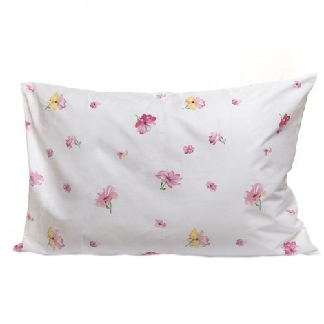 Възглавница 500гр+калъфка Розови цветя