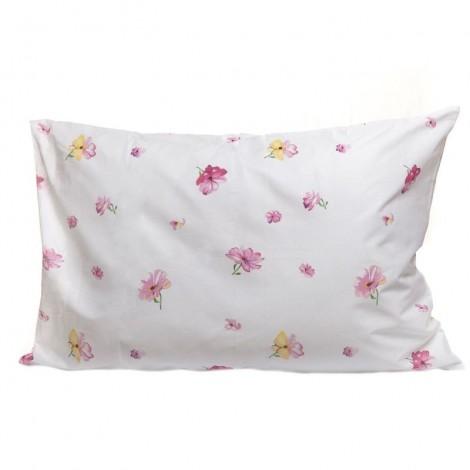 Възглавница 500гр+калъфка Розови цветя | Cama mia
