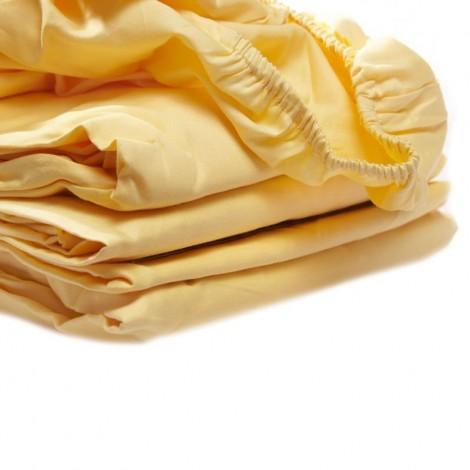 Чаршаф с ластик Жълт | Cama mia