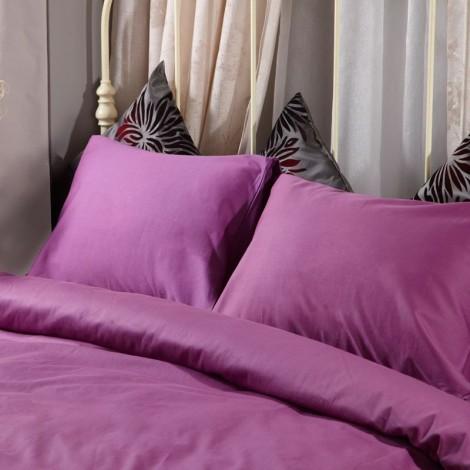 Спален комплект памучен сатен Лилав  | Cama mia