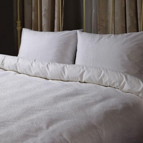 Египетски памук Бял жакард