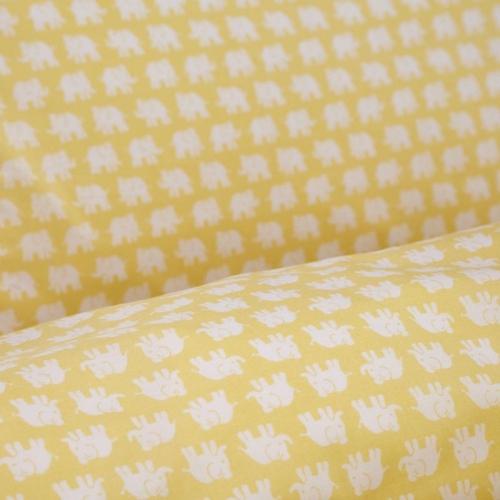2бр Калъфки Жълт слон- 2 размера