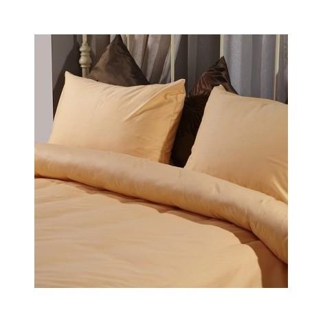 Олекотена завивка Оранжев памучен сатен  2 размера | Cama mia
