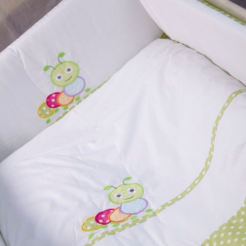 Бебешки сп. к-кт 4 части Гъсеница | Cama mia