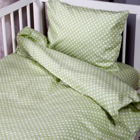 Бебешки комплект Зелени точки