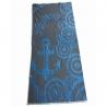 Плажна кърпа Синьо