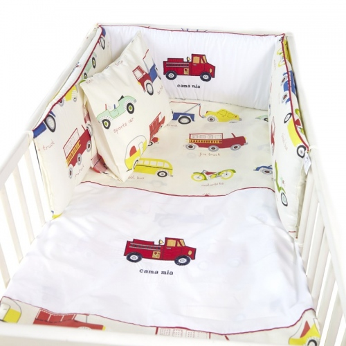 Бебешки сп. к-кт с обиколник Коли| Cama mia
