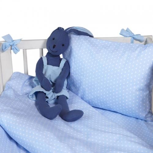Бебешки комплект 3 части Сини точки| Cama mia