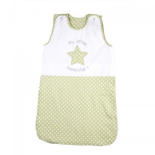 Лятно спално чувалче зелена звезда - 2 размера| Cama mia