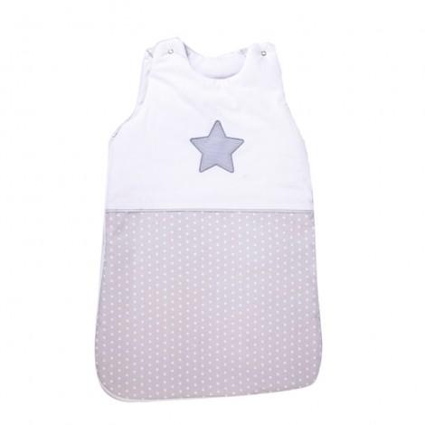 Зимно спално чувалче Сиви точки + Звезда - 2 размера| Cama mia