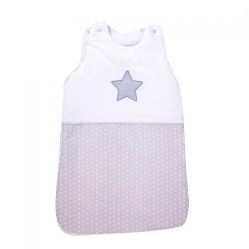 Зимно спално чувалче Сиви точки + Звезда - 2 размера