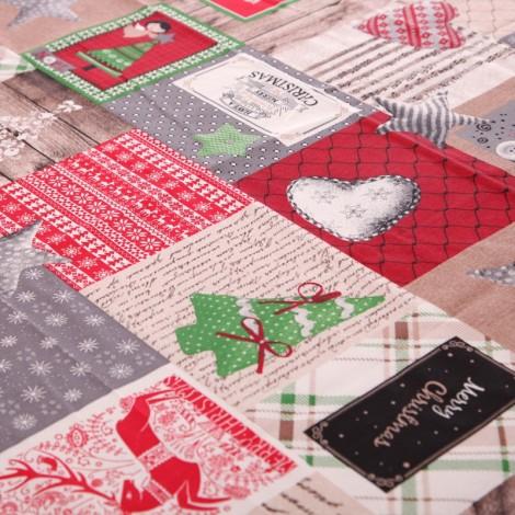 Коледна покривка Весели Празници| Cama mia