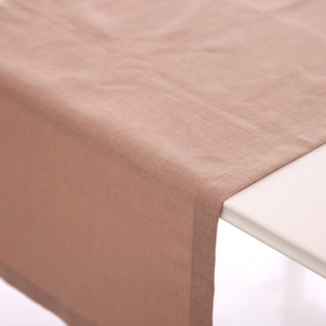 Луксозен Тишлайфер със съдържание на лен цвят Тютюн| Cama mia