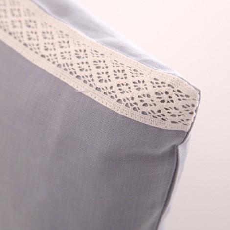 Калъфка за декоративна възглавница лукс с дантела| Cama mia