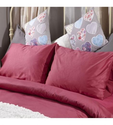 Спален комплект Поликотън Розов с ластик   Cama mia