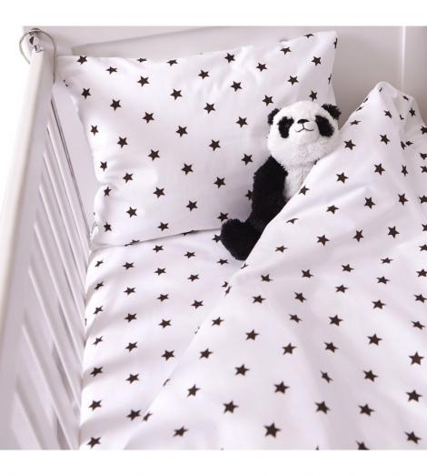 Бебешки комплект 3 части Черни звездички | Cama mia