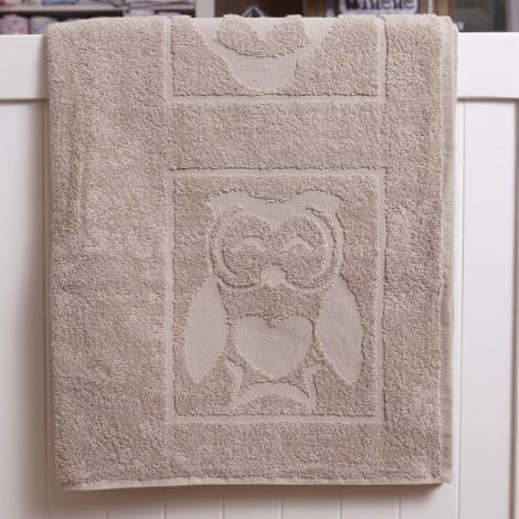 Детска кърпа розова Бухал