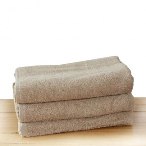 Бежова хавлиена кърпа 2 размера