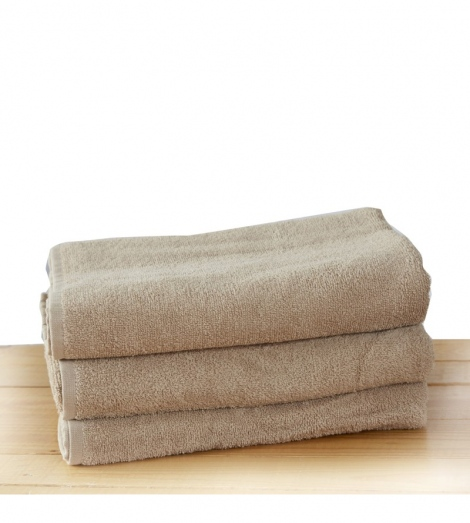 Бежова хавлиена кърпа 2 размера | Cama mia