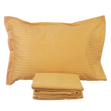 Спален комплект п. сатен 1 см. оранж