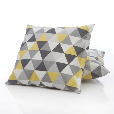 Калъфка за декоративна възглавница триъгълници | Cama mia