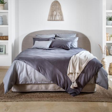 Спален комплект сатен сиво 500   Cama mia