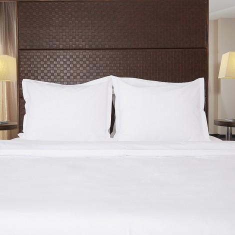 Спално бельо памук полиестер Бяло ранфорс | Cama Mia