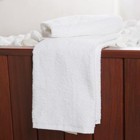 Бяла хавлиена кърпа 450г | Cama Mia