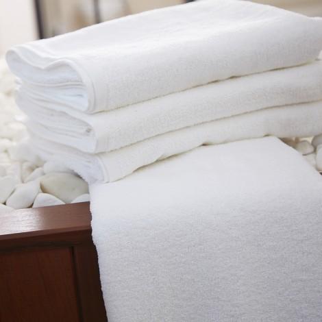 Бяла хавлиена кърпа 500г | Cama Mia